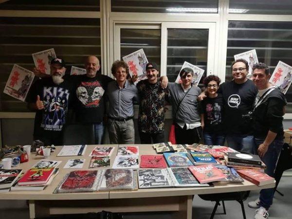 Evento all'interno dei locali di Scirocco Onlus alter comics