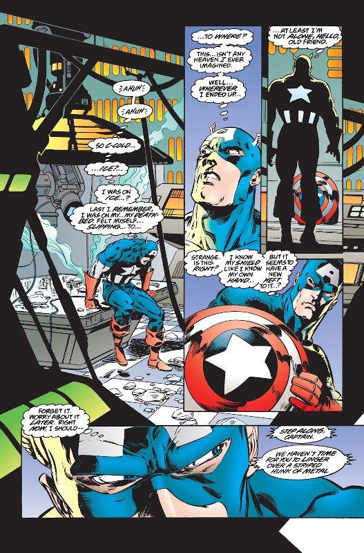 Captain America v1 445-005. pagina scritta da Mark Waid