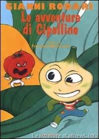"Copertina de ""Le avventure di cipollino"" scritte da Gianni Rodari"