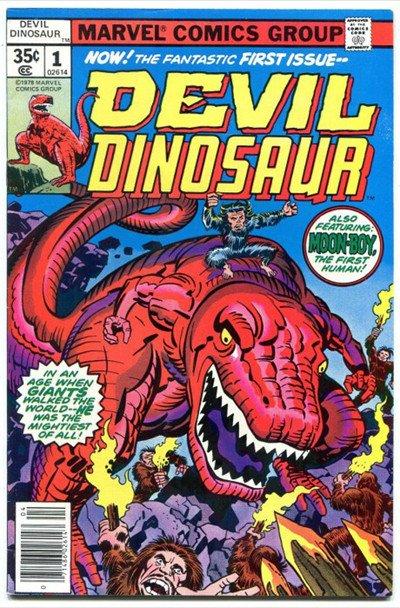 L'ho reso come un T. Rex perché l'animale si adattava perfettamente agli aspetti viziosi, amorali, spietati e terrificanti del suo personaggio. La sua pelle è rossa in omaggio al Devil Dinosaur di Jack Kirby.