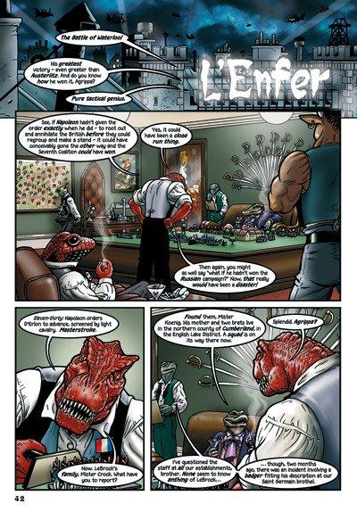 """""""L'Enfer"""": L'Hell Club (Club Infernale), da Grandville Force Maje"""
