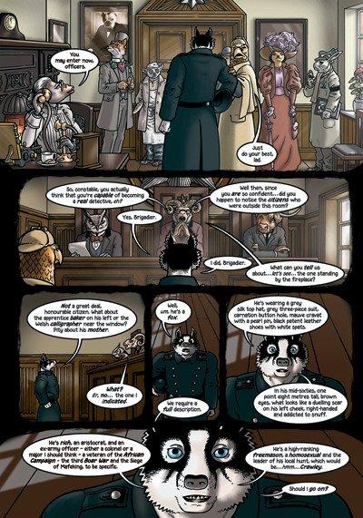 Mi è venuta in mente tutta questa scena per inventare un'intera serie di deduzioni holmesiane. Un paio di loro sono in realtà tratte dalle storie di Holmes, ma ho inventato la stragrande maggioranza. Indicherò quelli di Conan Doyle.