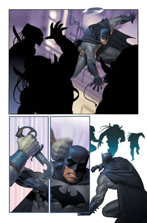 Tavola estratta da Batman LODK (DC Comics)
