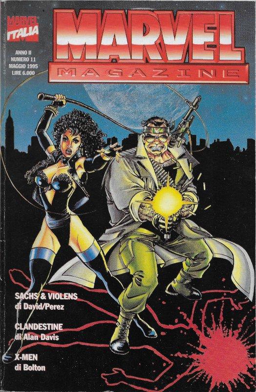 Copertina della rivista Marvel Magazine # 11, Marvel Italia (Mag 1995), in cui è contenuta la storia  Mother of the Bride, disegnata da John  Bolton
