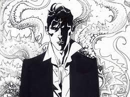 Dylan Dog, disegno di Nicola Mari