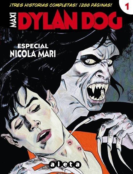 Edizione spagnola di Maxi Dylan Dog n.1 con tre storie di nicola AMri