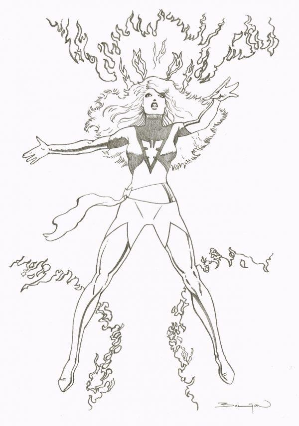 s348 – Phoenix – da Classic X-Men # 8, Marvel comics (aprile, 1987)