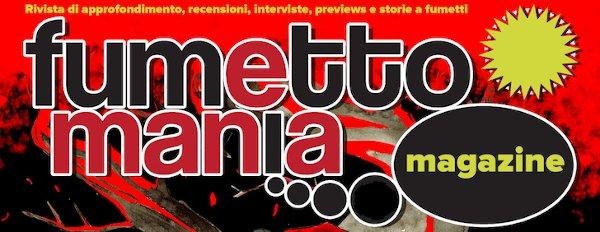 testata del web Magazine Fumettomania