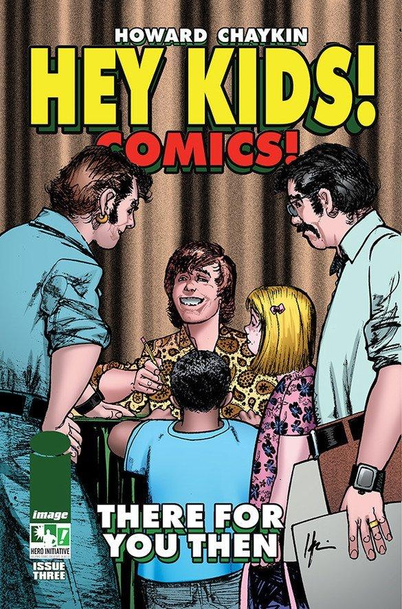 Cover del #3 della serie di Hey Kids! Comics! (Image Comics).  Testi e disegni di Howard Chaykin