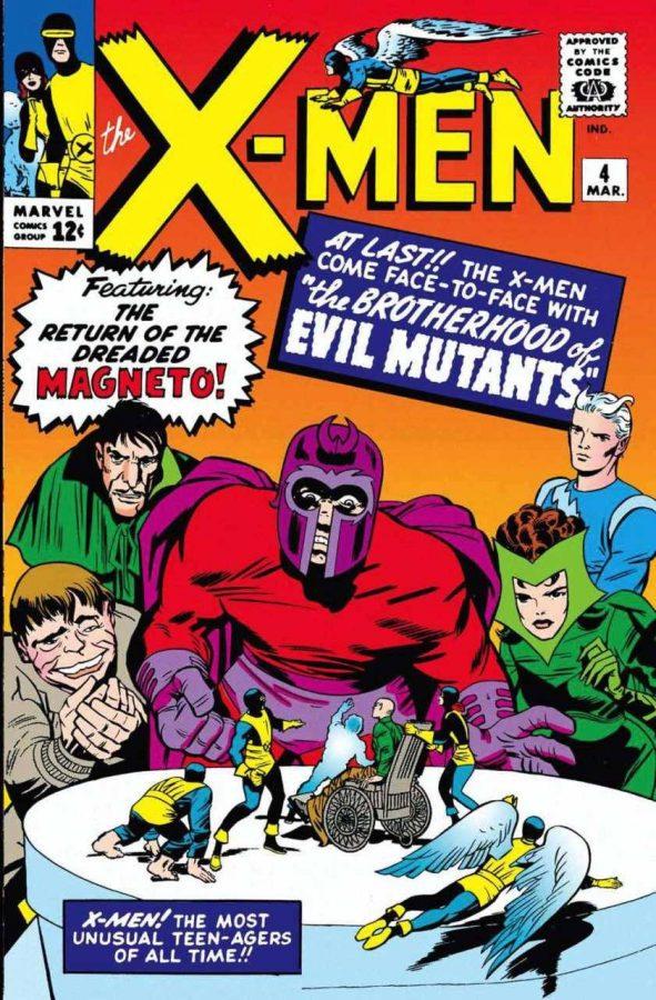 Copertina del n. 4 di The X-Men