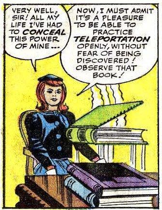 Jean Grey in azione nella prima storia degli X-Men