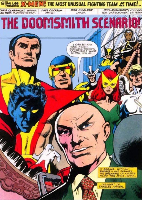 la prima pagine dei nuovi x-Men #94