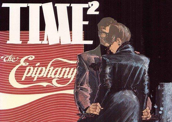 Una delle immagini promozionali di Time2. Testi e disegni di H. Chaykin