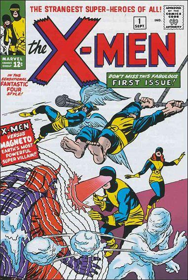 Cover del n. 1 degli X-Men