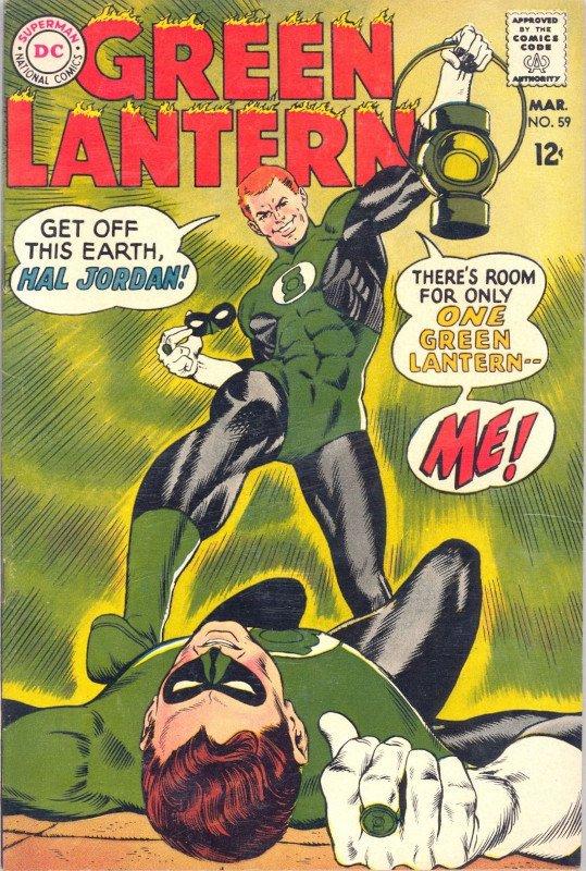 GUY GARDNER, che nel 1966 (Green Lantern #59)interpreterà il ruolo con il piglio aggressivo e anarchico di un bounty killer da western, o da futuro Ispettore Callaghan: