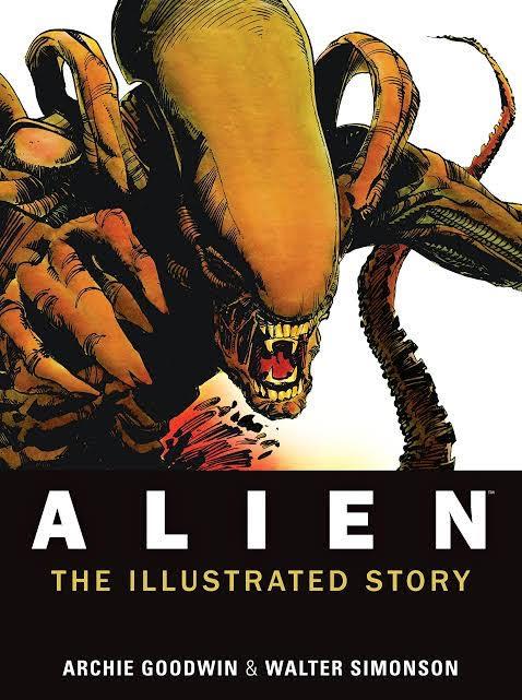 """l'adattamento del film """"Alien"""", sceneggiato da Archie Goodwin e disegnato da Walt Simonson"""
