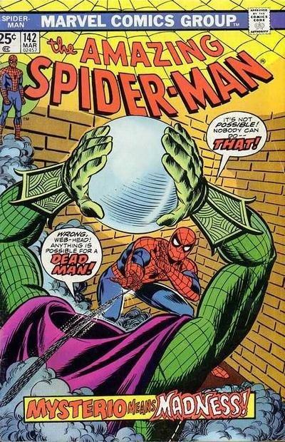 L'originale albo Usa, the Amazing Spiderman n. 142 (marvel comics)
