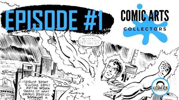 COMIC ARTS COLLECTORS #1 banner