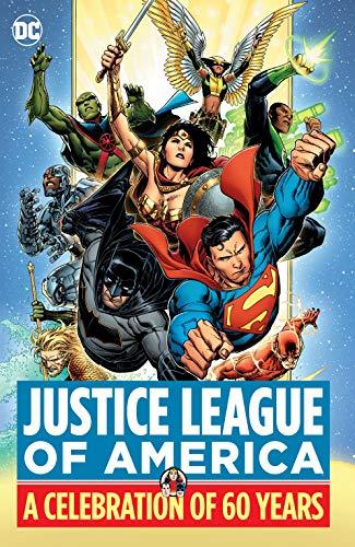 Copertina del volume celebrativo dei 60 della Justice League of America