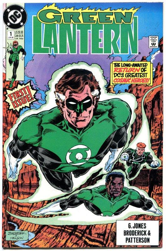 Green Lantern #1 (Giugno 1990)