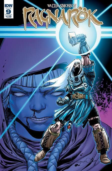Ragnarok #9 (IDW) testi e disegni di Walt Simonson