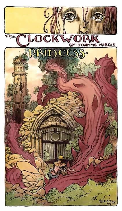"""illustrazione per il racconto """"the Clockwork Princess""""v di Joanne Harris © degli aventi diritti (https://enchantedlivingmagazine.com/clockwork-princess/)"""