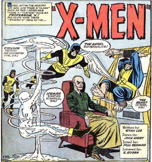 Lo stesso Jack Kirby nella creazione del parco-personaggi del nuovo universo Marvel avrebbe derivato fattezze ed effetti vari dalle sue storie trascorse: i mutanti Quicksilver e lo stesso Professor X (in questa immagine e nella precedente) devono molto a figure comparse in STRANGE TALES 67 e 69, ancora nel lontano '59.