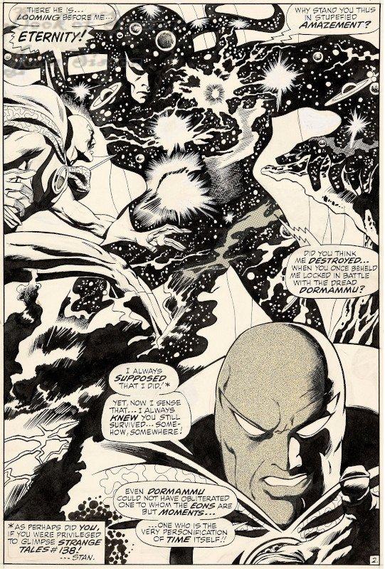 Doctor Strange #189 (may 1969) Page 2 splash page di Gene Colan