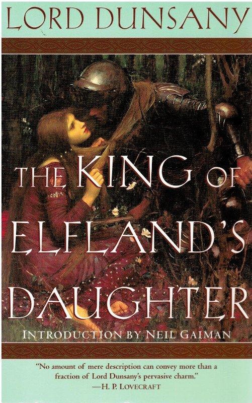 la copertiana di La figlia del re di Elfland di Lord Dunsany, citato da Charles Vess nell'intervista a fumettomania factory