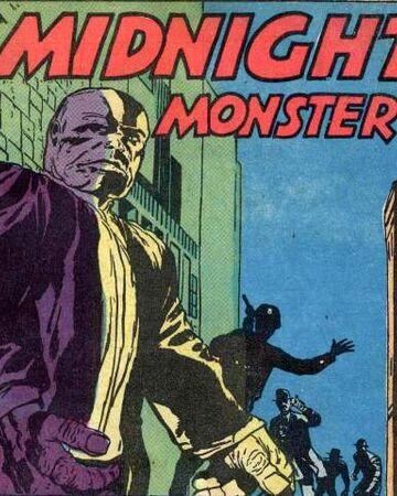 """ochissimi da noi sanno che la prima edizione grigia fu testata 2 mesi prima della mini, in una storia di JOURNEY INTO MYSTERY 79 intitolata """"The Midnight Monster"""", in cui uno scienziato di nome Victor Avery grazie a un filtro alla Dr.Jeckyll si trasforma in un titano immortale dalla pelle grigia  che in due riquadri è pressoché identico al futuro HULK dei primordi."""