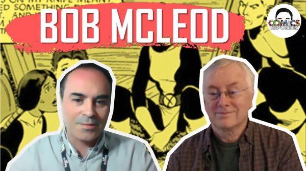 banner-copertina dell'Intervista a Bob McLeod