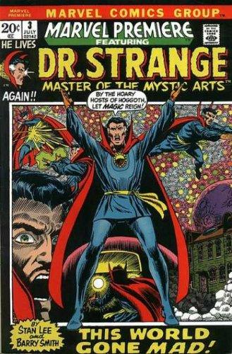 Cover dell'albo Marvel premiere 4, che presentava il doctor Strange