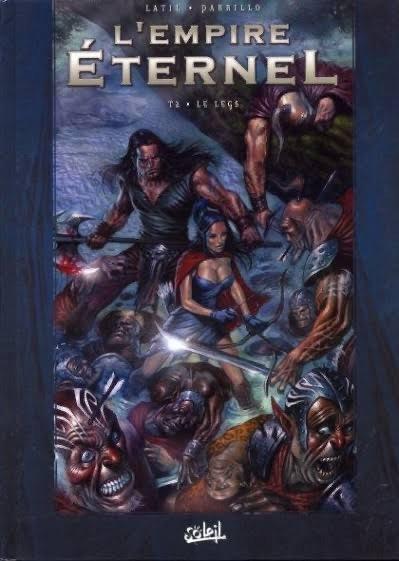 """copertina del volume """"l'Empire Éternel"""" Edizioni Soleil"""