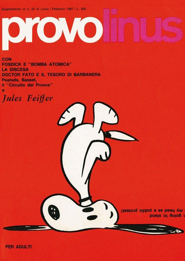 Supplemento di Febbraio 1967 di LINUS, detto ProvoLinus. Stavolta veniva pubblicato FF #3