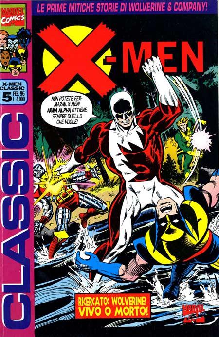 """nella seconda storia, invece, """"Carter"""" è presentato come un liceale che scopre di avere poteri mutanti e viene assalito dai suoi compagni per essere salvato a distanza da un telepate molto simile al Professor X degli X-MEN. In Italia è stata pubblicata nel 2005 su X-MEN CLASSIC 5 come la """"prima storia mutante""""."""