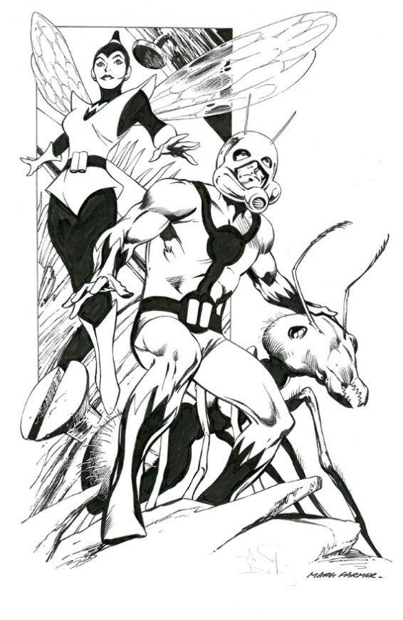 Ant Man&Wasp di Alan Davise Mark Farmer