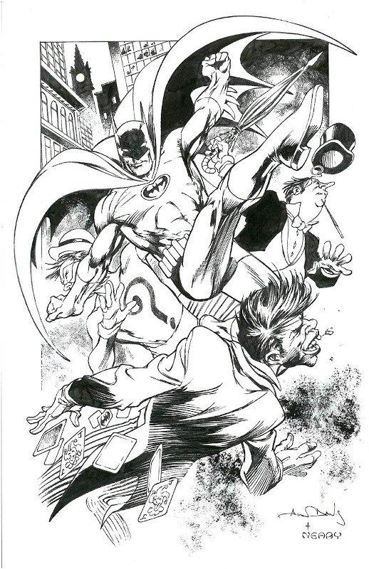 Bat-Man di Alan Davis