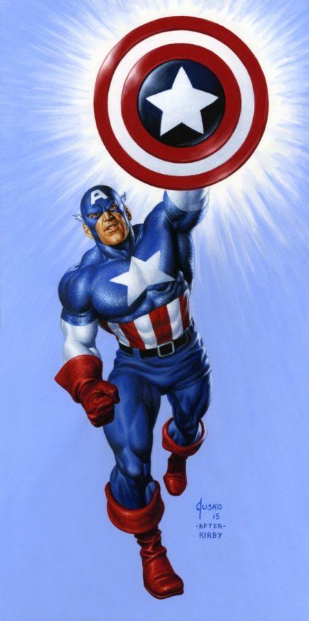Captain America di Joe Jusko