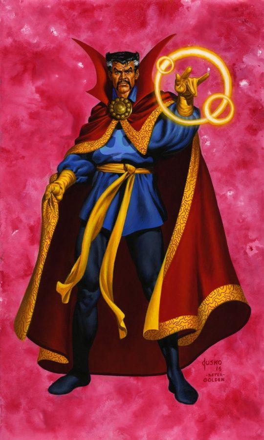 Doctor Strange di Joe Jusko