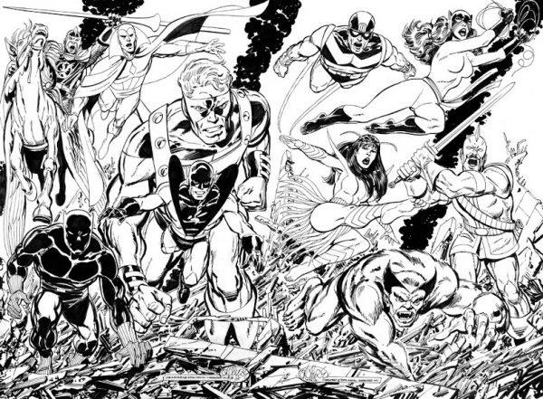 John Byrne Avengers1
