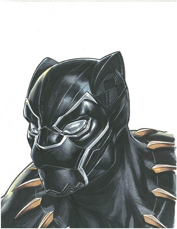 Mark Brooks : Black Panther