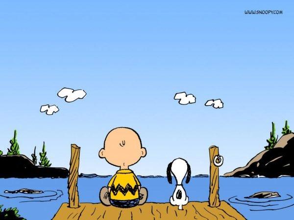 Snoopy e Charlie Brown