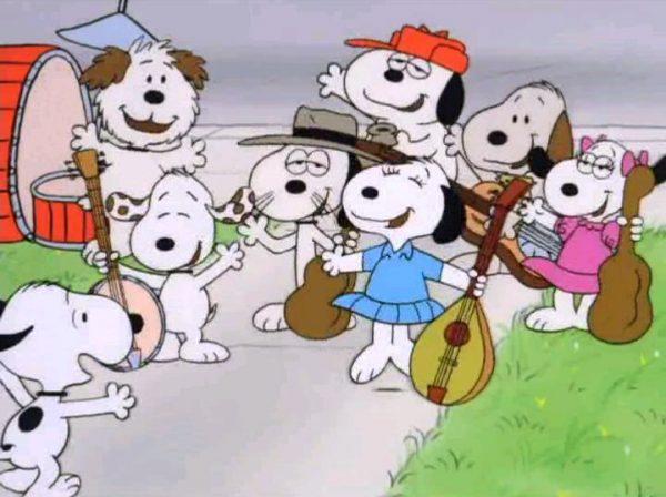 la Snoopy band