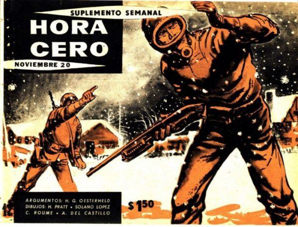Una delle copertine di Hora Cero Suplemento Semanal dedicata alla storia L'Eternauta