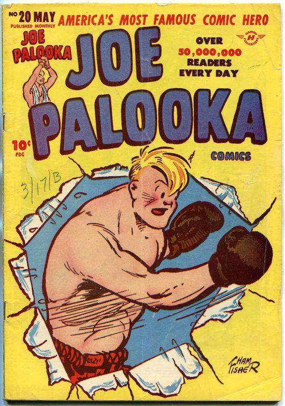 Cover dell'albor n. 20 di Joe Palooka