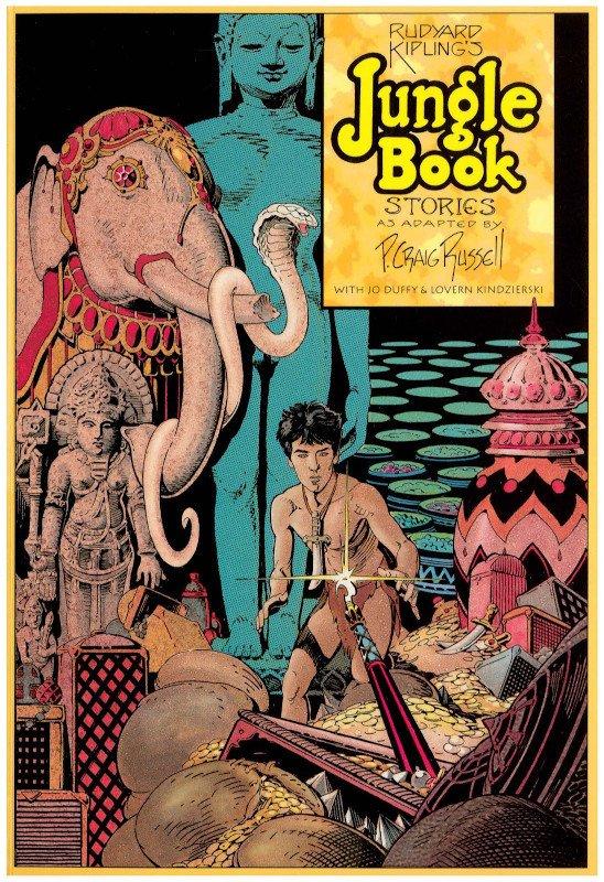 Jungle Boks stories, cover © degli aventi diritti