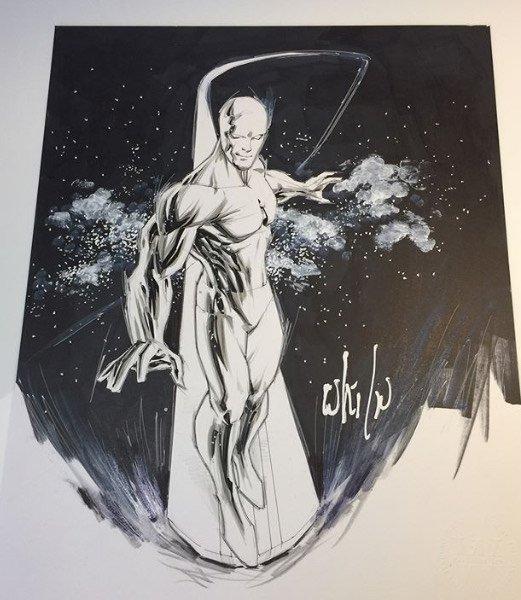 Altro Sketch di Silver Surfer di Whilce Portacio