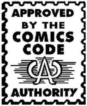 il bollino del Comics Code Authority,