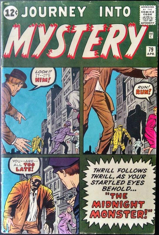 Cover dell'albo Journey into Mystery #79