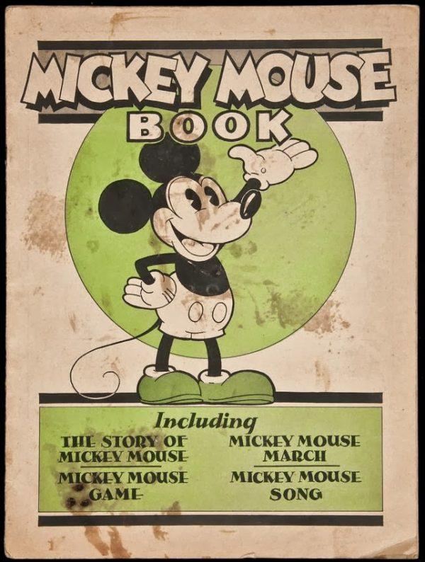 """Nel 1930 vedeva la luce quello che è in assoluto il primo libro al mondo di Topolino : il """"Mickey Mouse Book"""" delle edizioni Bibo & Lang."""